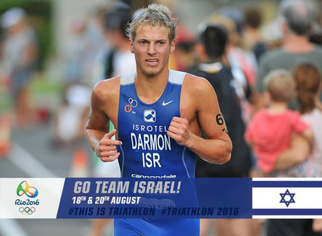 Ron Darmon first Israeli Triathlete in the Olympics