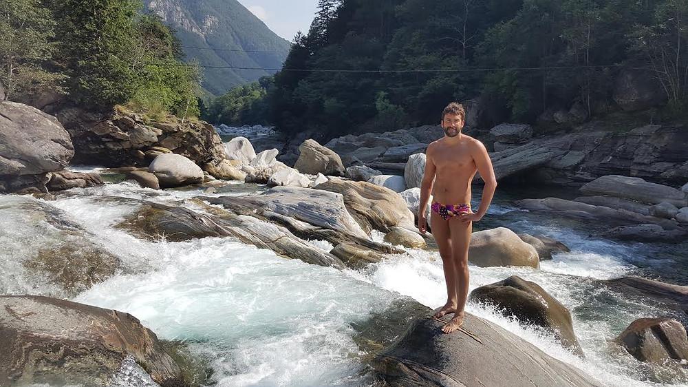 Jonathan Kopelev,Lake Maggiore, Locarno Switzerland