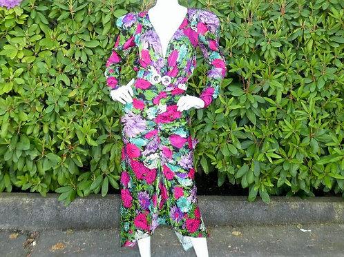 Womens Ronny Kobo Astrid Floral Bouquet Dress (HFRK-9781286BFJ)