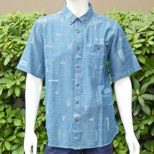 Kavu Mens Juan Maritime S/S Summer Shirt (ELAV-KA5038-686)