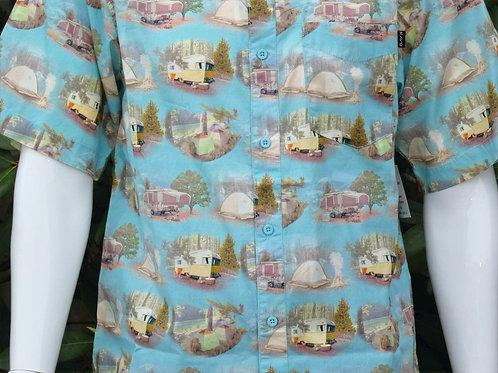 Kavu Mens The Jam Car Camper S/S Summer Shirt (ELAV-KA5141-1227)