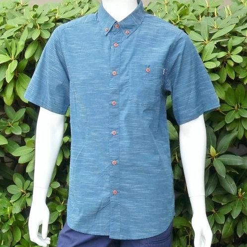 Kavu Mens Welland Inkwell S/S Summer Shirt (ELAV-KA5124)
