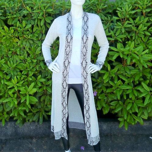 Womens One Grey Day Lola Python Duster  (HFOGD-41OGD807)