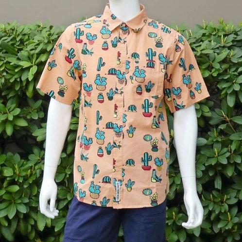 Kavu Mens Festaruski Prickle Perfect S/S Summer Shirt (ELAV-KA5036-849)