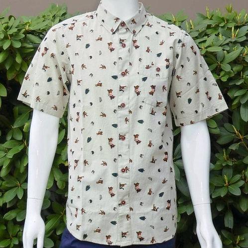 Kavu Mens Juan Sasquatch S/S Summer Shirt (ELAV-KA5038-500)