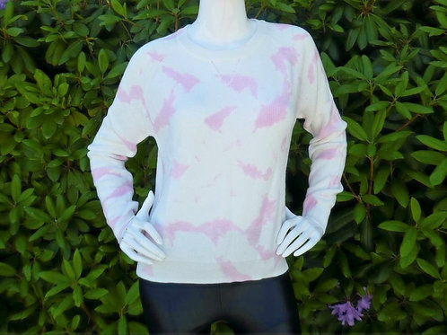 Womens One Grey Day Blossom Tie Dye Pullover (HFOGD-41OGD854)
