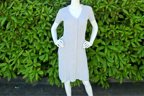 Womens One Grey Day Quentin Ribbed Dress  (HFOGD-41OGD879)