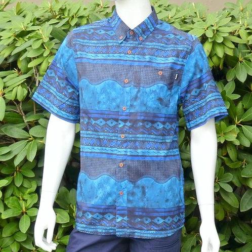 Kavu Mens River Wrangler Seven Seas S/S Summer Shirt (ELAV-KA5093-887)