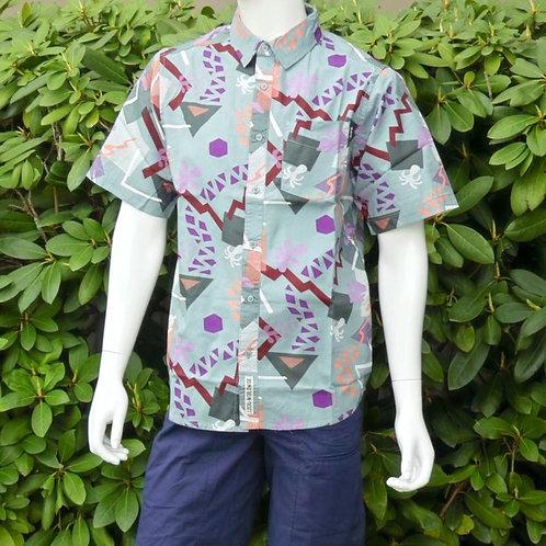 Kavu Mens Festaruski Banana Rama S/S Summer Shirt (ELAV-KA5036-1222)