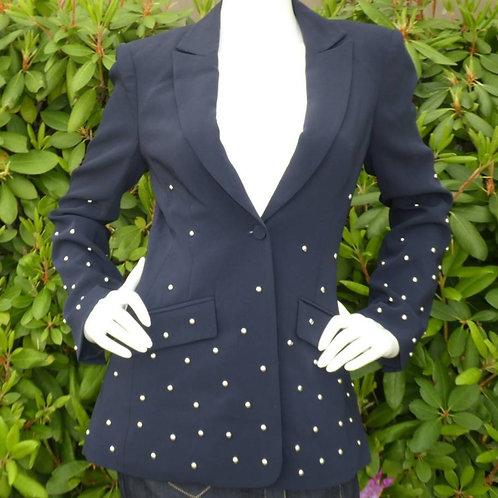 Womens Cinq a Sept.nyc Studded Estelle Blazer (HF5A7-ZJ3221319Z)