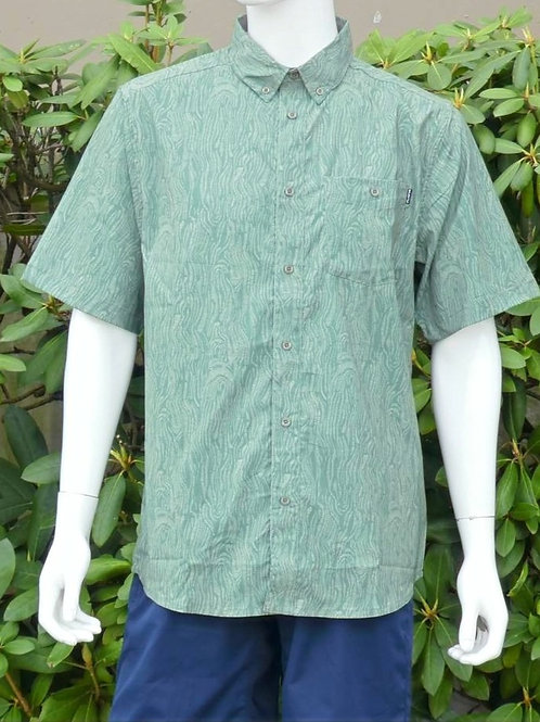 Kavu Mens River Wrangler Seaweed S/S Summer Shirt (ELAV-KA5093-524)