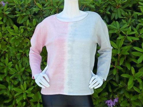 Womens One Grey Day Alma Tie Dye Pullover (HFOGD-41OGD832)