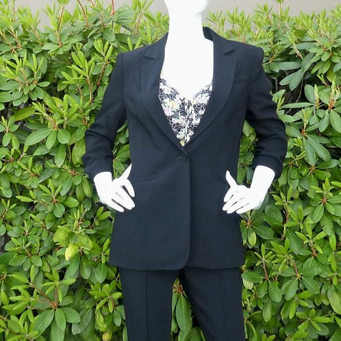 Womens Cinq a Sept.nyc Crepe Khole Roched Sleeve Blazer (HF5A7-ZJ219G1319Z)