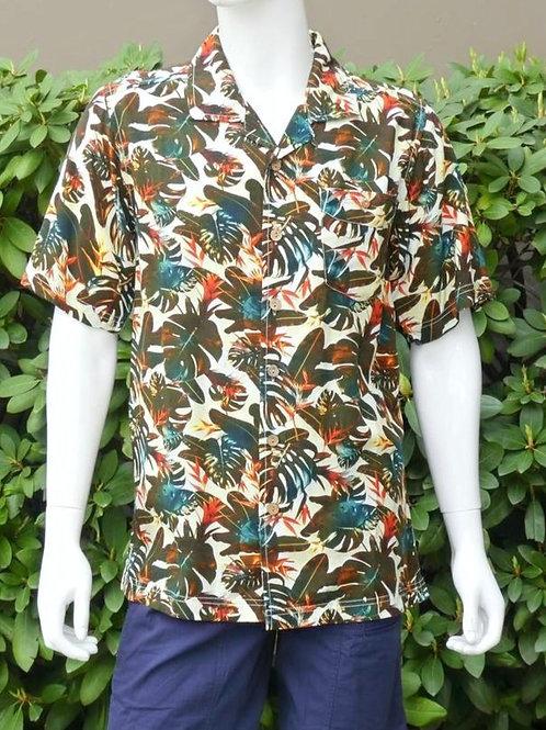 Kavu Mens The Banco Island Canopy S/S Summer Shirt (ELAV-KA5181)