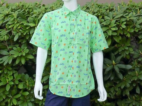 Kavu Mens Festaruski Happy Hour S/S Summer Shirt (ELAV-KA5036-422)