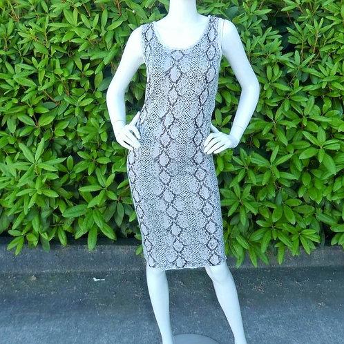 Womens One Grey Day Lola Python Dress (HFOGD-41OGD824)