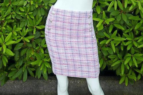 Womens Generation Love Adi Tweed Pink Skirt (HFGL-SP20539)