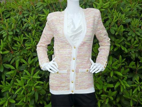 Womens Ronny Kobo Chavri Tweed Cardigan Multicolour (HFRK-73020TWD)