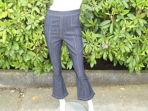 Womens Cinq a Sept.nyc Indigo Denim Seneca Pants (HF5A7-ZP4371502Z)