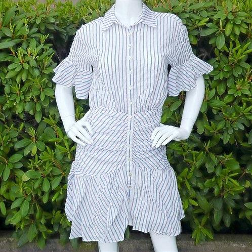 Womens Cinq a Sept.nyc Asher Stripe Shirt Dress (HF5A7-ZD888B3334Z)