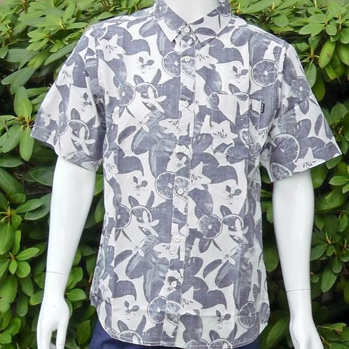Kavu Mens The Jam Citrus Grove S/S Summer Shirt (ELAV-KA5141-1226)