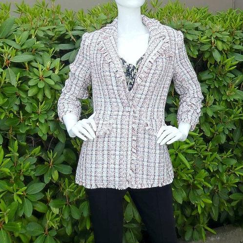 Womens Cinq a Sept.nyc Khloe Tweed Blazer (HF5A7-ZJ3153372Z)