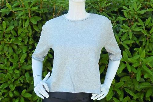 Womens One Grey Day Ellie Short Sleeve Crop Pullover (HFOGD-41OGD830)