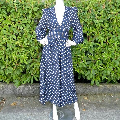 Womens Ronny Kobo Maria Polka-Dot Dress (HFRK-9681457DPR)