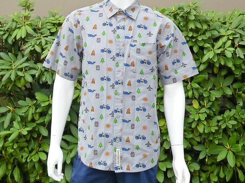 Kavu Mens Festaruski Clock Out S/S Summer Shirt (ELAV-KA5036-745)