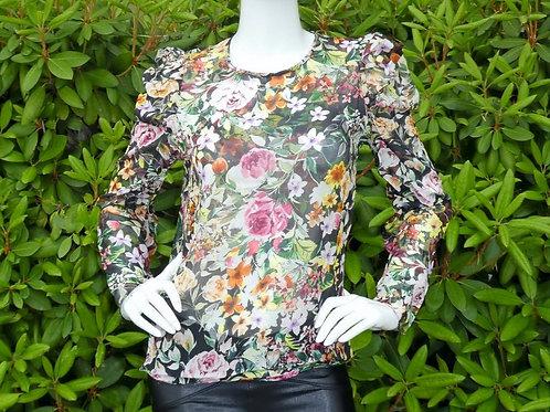 Womens Generation Love Jada Floral Silk Blouse (HFGL-SP20242)