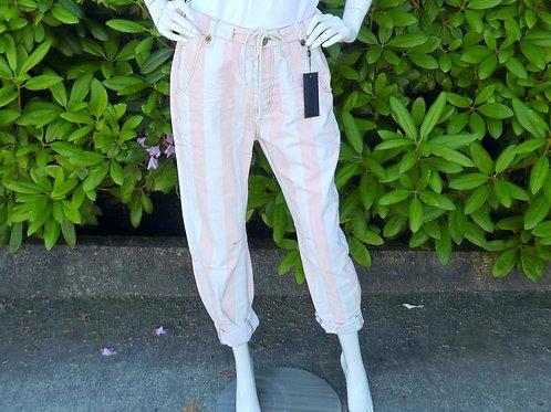 Womens One Teaspoon Candy Stripe HW Safari Pant (HFOT-23072)