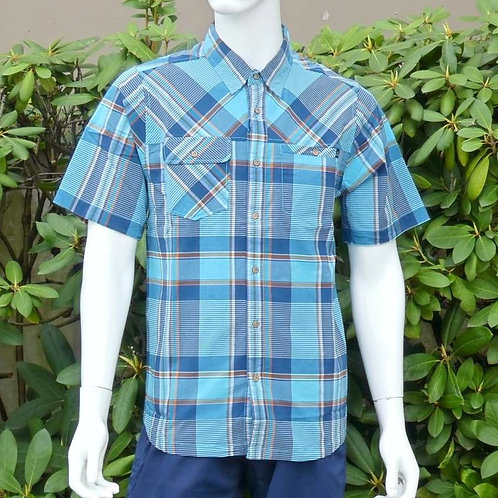 Kavu Mens Boardwalk Beach Blues S/S Summer Shirt (ELAV-KA5096-1116)