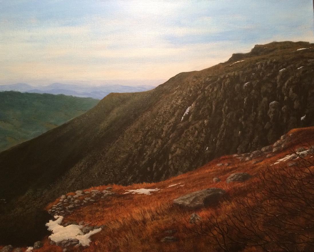 "Mt. Washington | 16"" x 20"" canvas"
