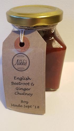 Beetroot & Ginger Chutney