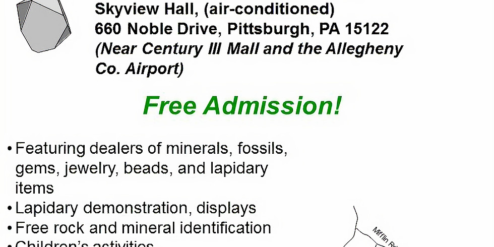 2020 Gem, Mineral, and Fossil Show - Day 1
