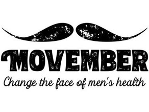 Things are getting hairy... Movember is for Men's Health Awareness!