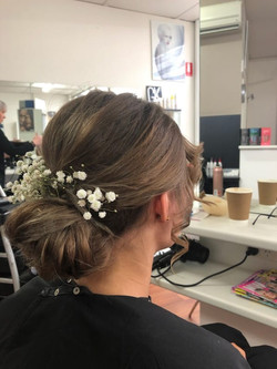 Floral Hair by Kutting Kapers