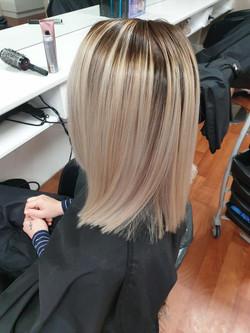 Hair Straightening by Kutting Kapers