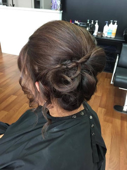 Wedding Hair by Kutting Kapers