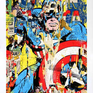 Mr-Brainwash-Captain-America-TheArtBank-