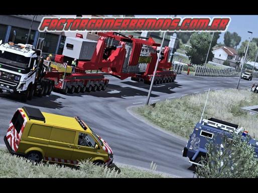 Download Trailer Transporte Especial Gigante para Ets2 V.1.36.x