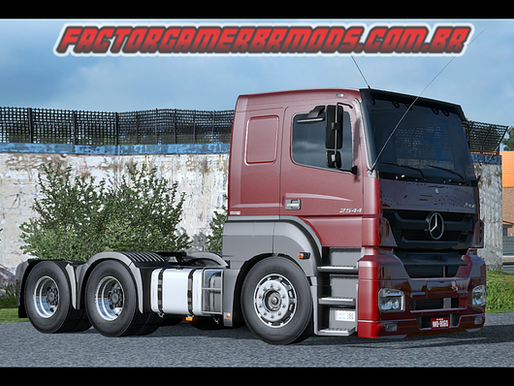 Download Mercedes Axor 2544 Ets2 V. 1.35.x