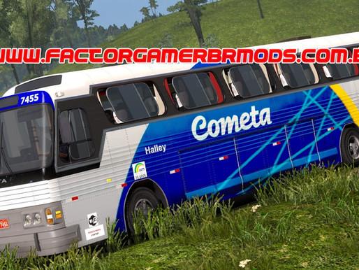 Download Ônibus CMA Flecha Azul II Para Ets2 V.1.38.X By Tiozão Gamer