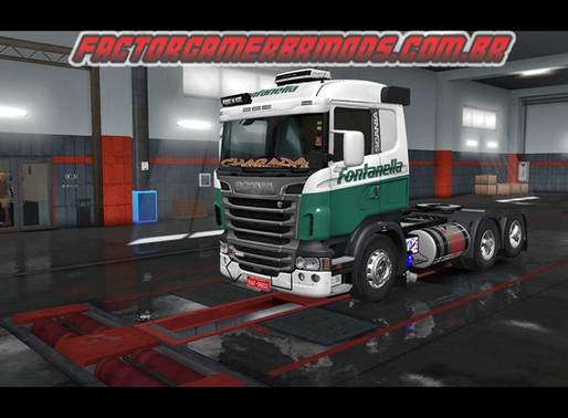 Download Pack de skins v1 para scania RJL Edit Rafael Alves Atualizado   Ets2 V. 1.36.x