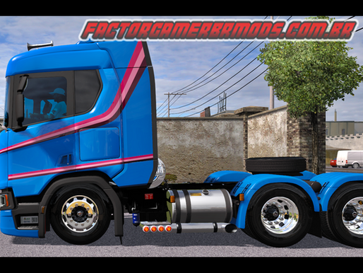 Download Scania R & S V4.0.1 BR Edition Qualificada para Ets2 V. 1.36.x