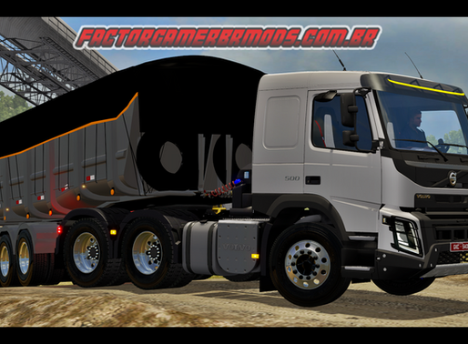 Download Volvo FM e FMX 1.1+ addons+ Skin Edit Original Ets2 V. 1.36.x