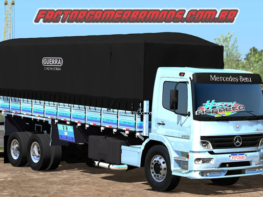 Download Mercedes Benz Atego 2425 Graneleiro para Ets2 V. 1.36.x