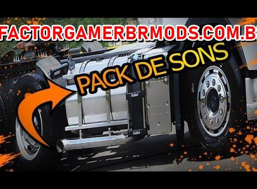 Download Pack de Sons para  todos Trucks para Ets2 V. 1.37.X