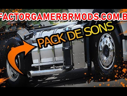 Download Pack de Sons para  todos Trucks para Ets2 V. 1.37.X