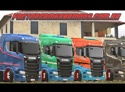 Download Scania S & R BR Edition V3 Ets2 V. 1.35x.x.x